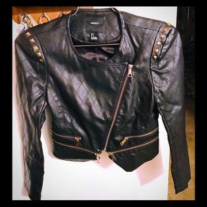 Trendy, Edgy Leather Jacket